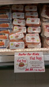 Flat Hot Dogs